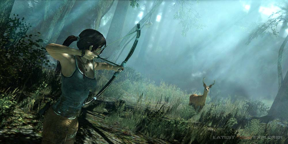 Rise of the Tomb Raider 'Woman vs. Wild' – Harsh Environments Video