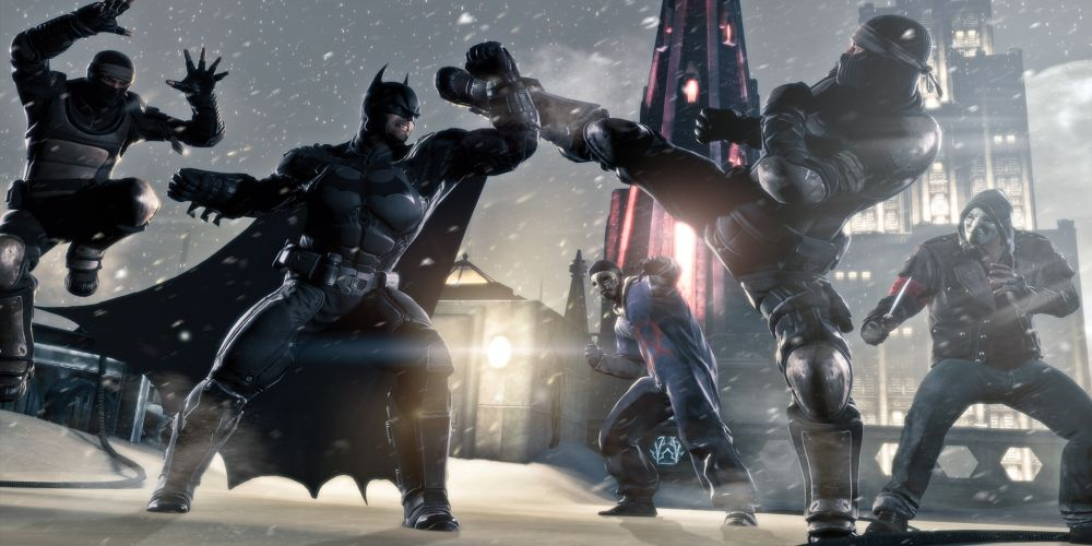Batman: Arkham Origins Multiplayer Gameplay Footage