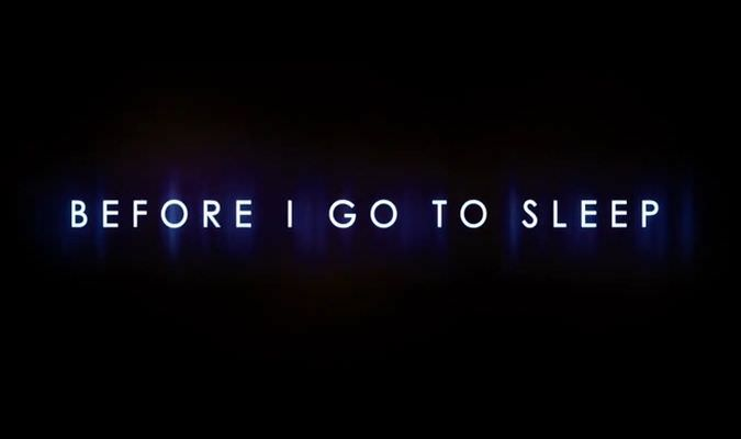 Before I Go To Sleep – Trailer