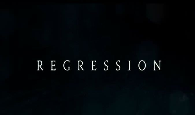 Regression – Trailer
