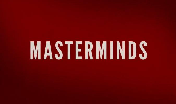 New Masterminds Trailer Featuring Zach Galifianakis
