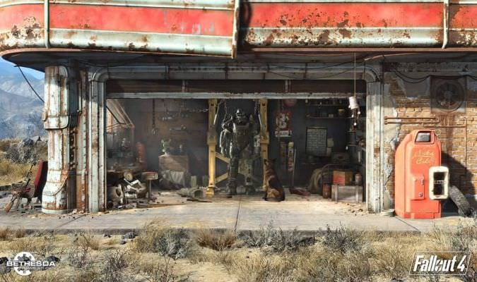 Fallout 4 'Wasteland Workshop' DLC Trailer