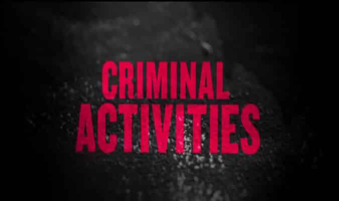 Image Entertainment's Criminal Activities – Trailer