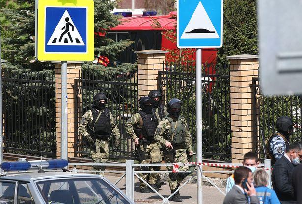 school shooting Russia