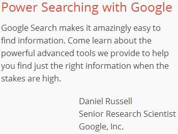 google-power-searching-class