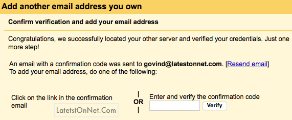 verify-custom-email-gmail-account