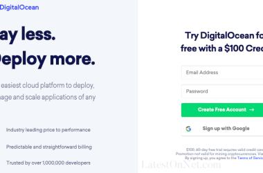 DigitalOcean_free_100_usd_credits