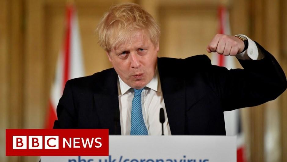 Boris Johnson: UK can turn the tide in 12 weeks – BBC News