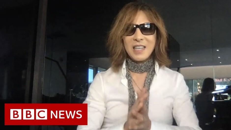 Coronavirus: The Japanese musician Yoshiki on #SING4LIFE – BBC News