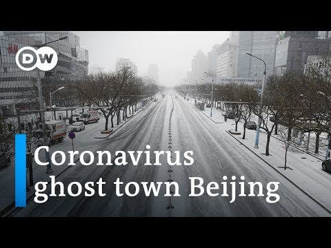 Coronavirus turns bustling Beijing right into a ghost city | DW Information