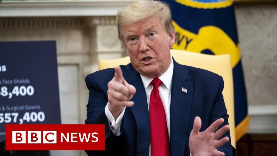 Coronavirus: Trump provides WHO ultimatum over Covid-19 dealing with – BBC Information