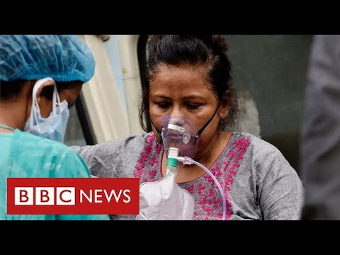 Hospitals in India run out of oxygen as its Covid instances hit world report ranges – BBC Information