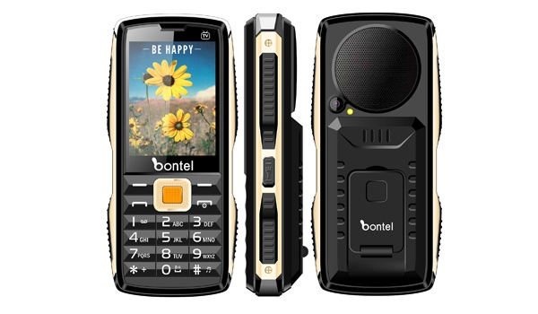 Bontel Tv king feature phone with long lasting battery