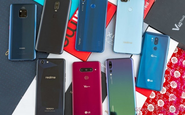 Global Smartphone sales ranking 2018