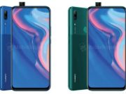 Huawei P Smart Z with Pop Up camera, renders, 4000mah battery