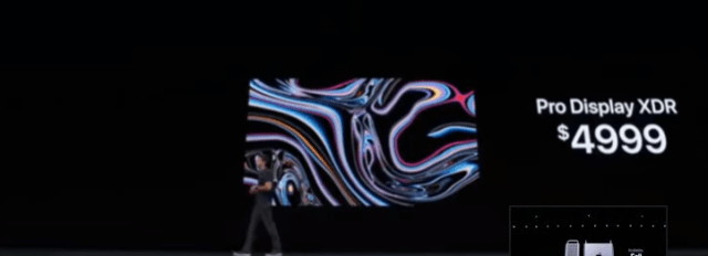 Apple at the WWDC 2019 announced Pro Display XDR