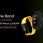 Realme First Smart Band with 10-Day Battery Life, HR Monitoring Launched