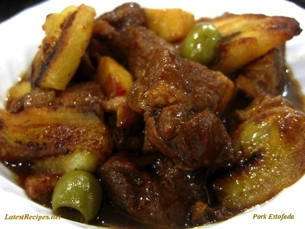 KCC: Filipino-Spanish Dishes: Pork Estofada