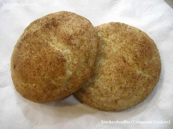 Snickerdoodles (Cinnamon Cookies)