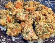 Salted egg yolk Shrimp