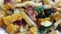 Roasted Squash and Zucchini Pasta
