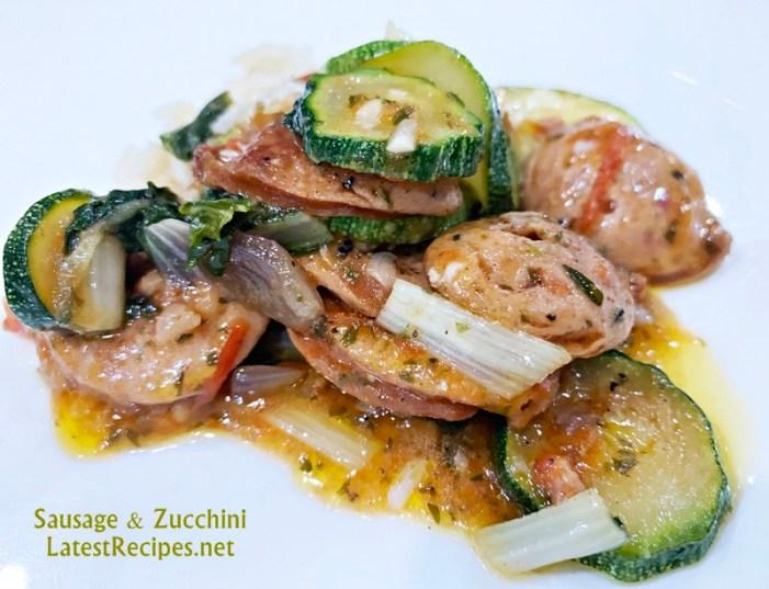 Sausage and Zucchini