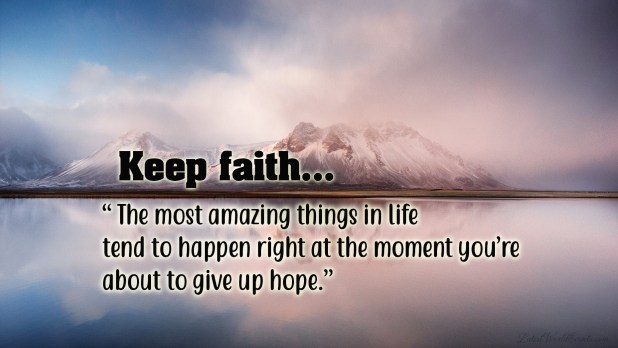 Quotes About Faith Hope And Love Inspirational Faith Picture Quotes