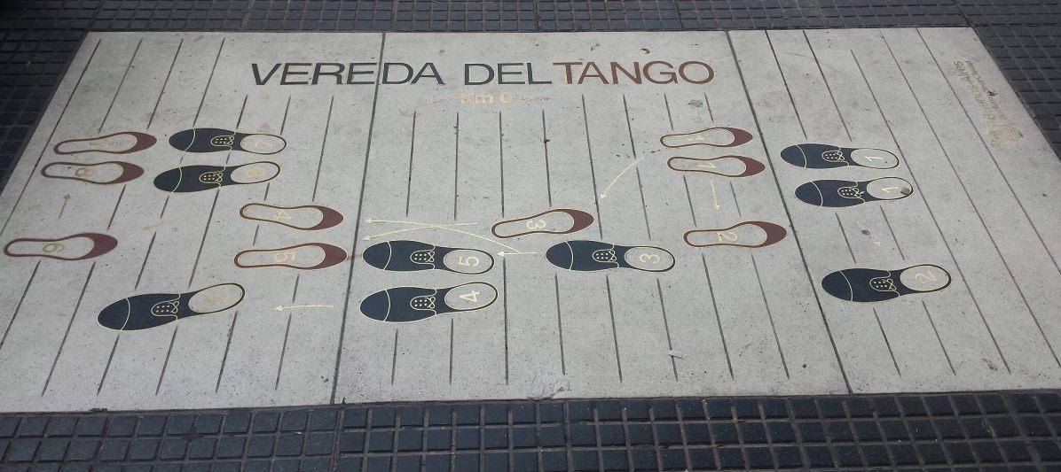 Pas de tango, Buenos Aires
