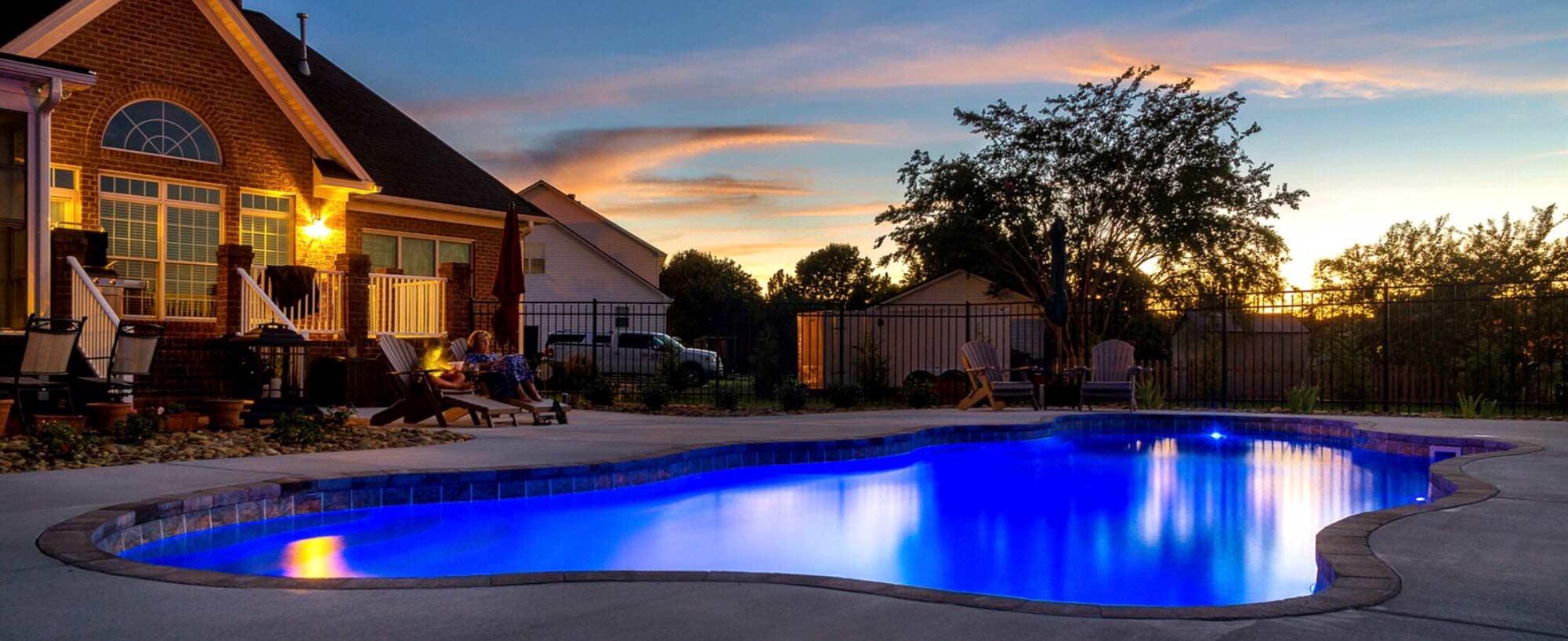 swimming pool led lights latham pools