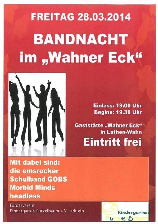 Bandnacht 2014