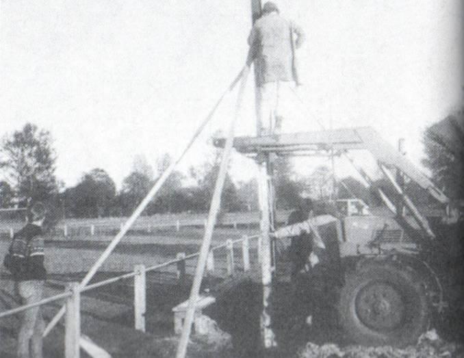 Flutlichtanlage für die SpVgg Lathen-Wahn