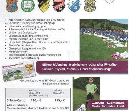 Fußballcamp vorne
