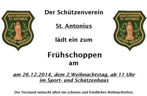 Schützenverein Frühschoppen