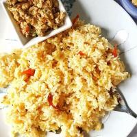 Arisi Parupu Sadam(KonguNadu style) - Instant pot Indian Lentil Rice