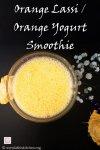 Orange lassi, Orange smoothie,smoothie,fruit,No Cook,Juice,Orange,Yogurt