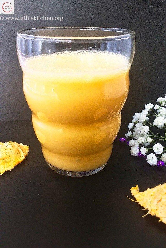 Orange Lassi,Orange smoothie,fruit,no cook,easy,summer,juices,kids