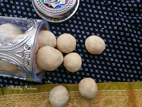 Maa Ladoo,Maladu,Ladoo,Easy,Kids,Indian,Snack,