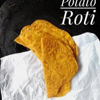 Sweet Potato Roti / Sweet Potato Indian Flat Bread