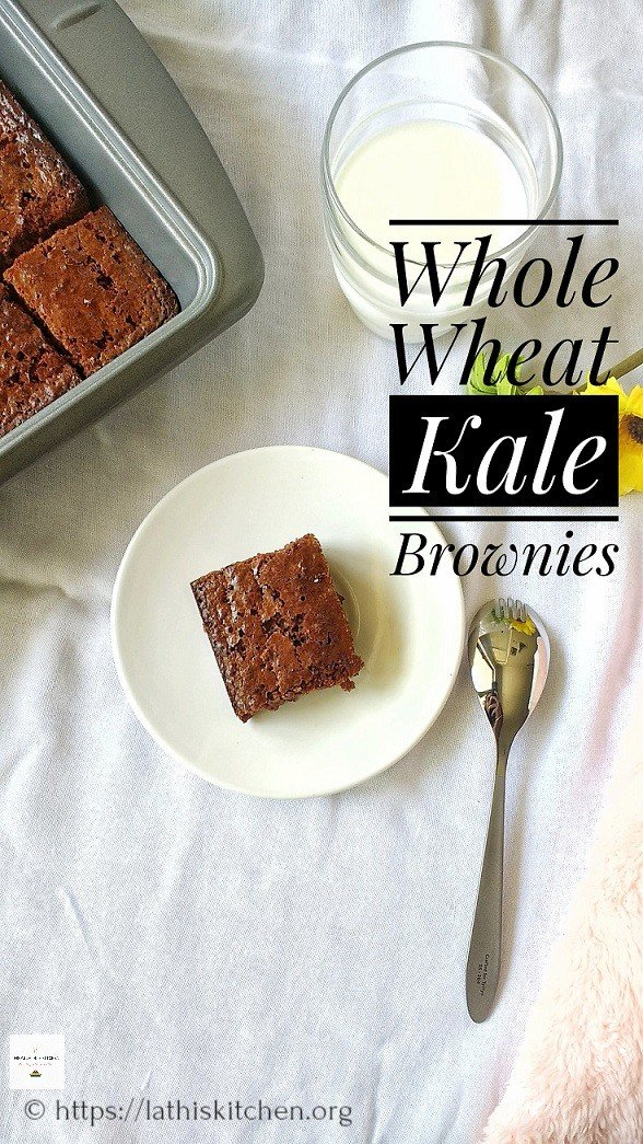 Kale Brownies.Brownies,Baking,Kale.Dessert,Kids,Snack,Eggs