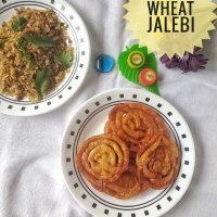 Whole Wheat Jalebi - An Indian Funnel Cake