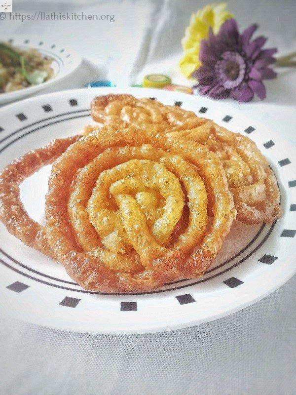 Whole Wheat Jalebi,Jalebi,Indian,Diwali,Dessert,Whole Wheat,Besan,Sweets