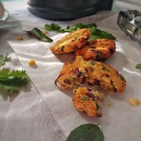 Paruppu Vadai/ Chana Dal Fritter - Dash Compact Air Fryer Review
