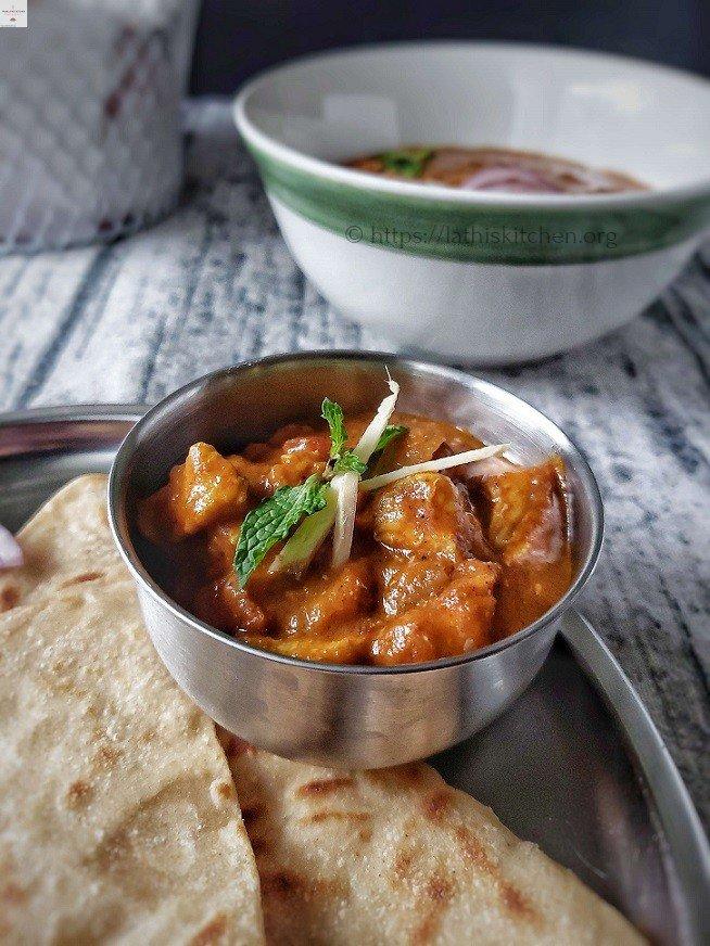 Kashmiri Chicken Curry,Chicken Curry,Curry,Indian,Dinner,Chicken,Non vegetarian,Gravy