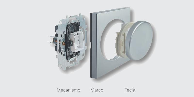 composicion mecanismos electricos niessen tacto