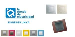 Mecanismos eléctricos Schneider Unica