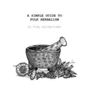 A Simple Guide to Folk Herbalism (E-BOOK)