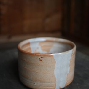 Shino Blue Tea Bowl
