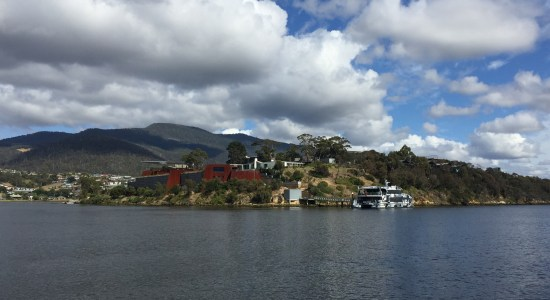 Art Lovers are flocking to the MONA Museum in Hobart, Tasmania, Australia