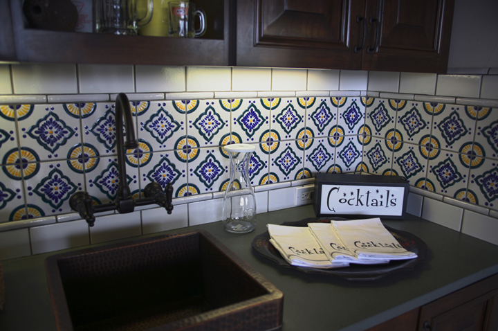 classic 26 design talavera tile traditional clay body