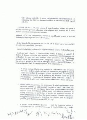 elezioni latina esposto - denuncia 2